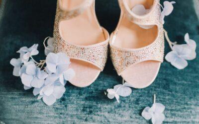 Bridal shoe tips